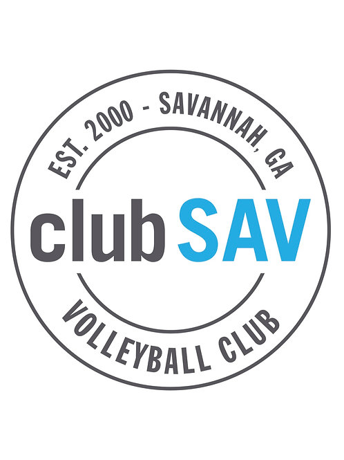 clubSAV Circle Logo Sticker