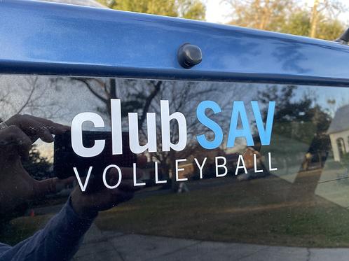 clubSAV Car Sticker