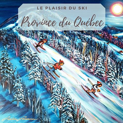 Plaisir du ski -Québec