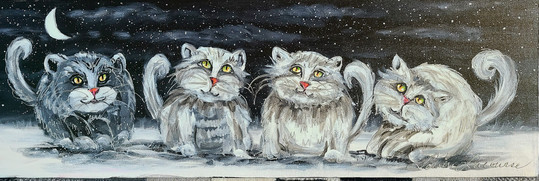 Les chatons 8x30
