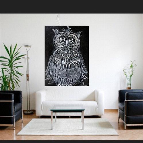 Impression sur toile -Noir et blanc