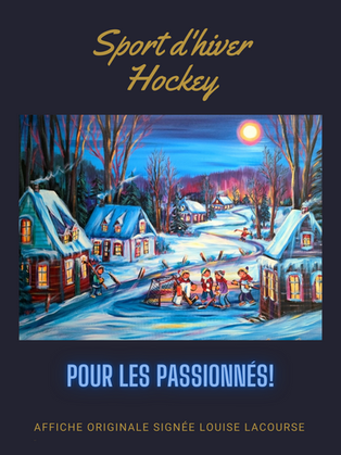 Passionné d'hockey