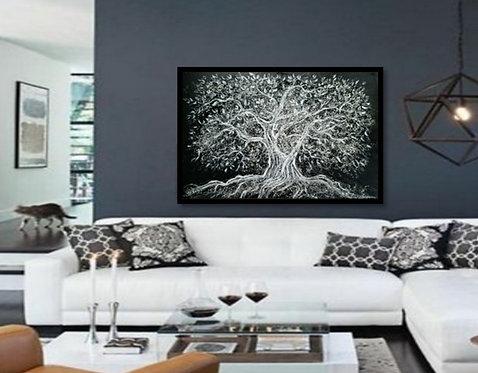 Impression sur toile -L'arbre de la vie