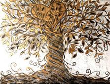 L'albero della vita 36x48 Vendu