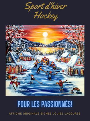 Sport d'hiver -Hockey