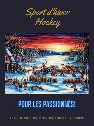 Sport d'hiver -Hockey2
