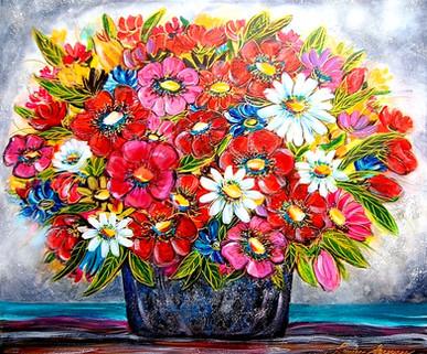 Bouquet parfumé 30x36 Vendu
