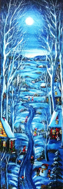 Plaisir d'hiver 48x15