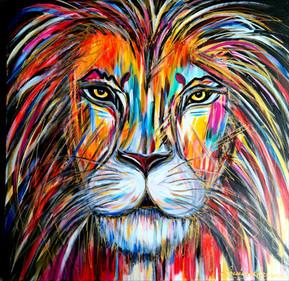 30x30 Le lion