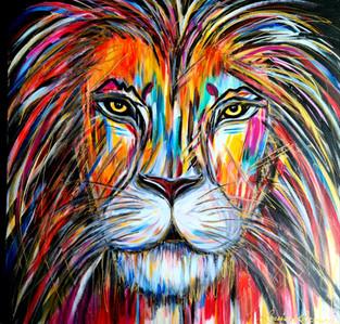 30x30 Le lion Vendu