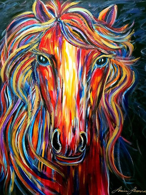 Oeuvre Originale -Le cheval