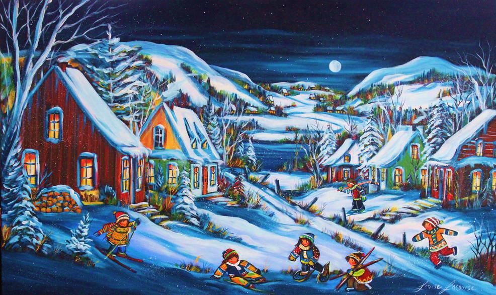 Souvenir d'hiver 24x36