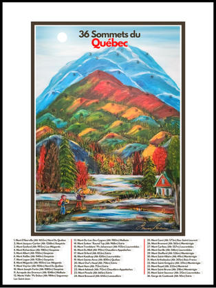 36 Sommets du Québec