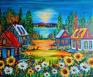 Mon village coloré 18x24.jpg