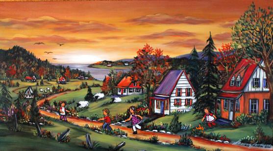 Journée d'automne 24x36 Vendu