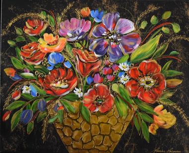 24x30 Bouquet royal