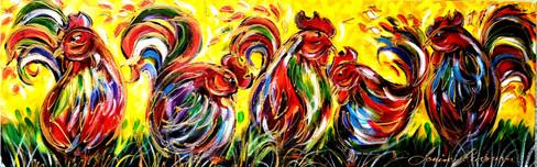 Les poulettes joyeuses 8x30