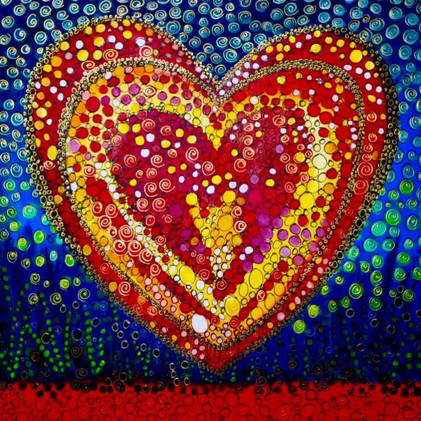 Coeur en fête