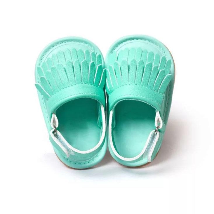 Pré Sandales Oxnn0w8pk Turquoise Bébé Marche E2IDYWH9
