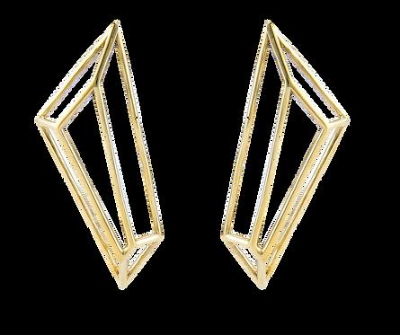 Aretes Gold Illux XL -Iconique