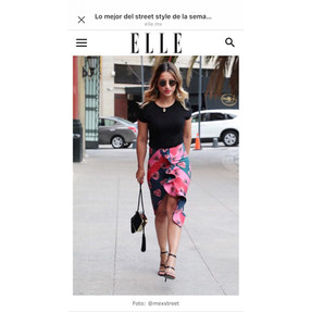 Feauture in ELLE.