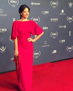 Adriana Llabrés en los Premios Fénix