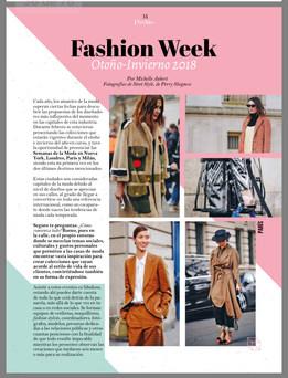 Fashion Article Fashion Week FW18