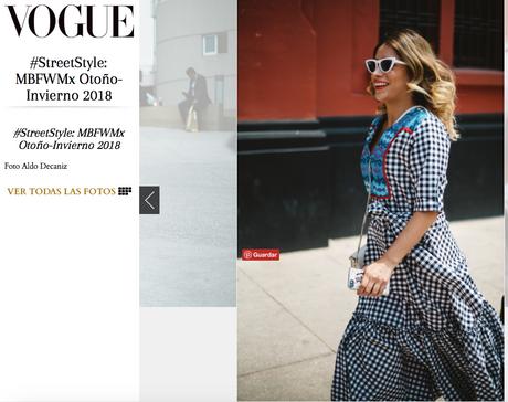 Vogue México y Latinoamérica.