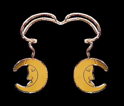 Aretes Luna - Iconique