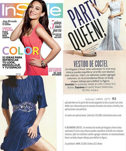 InStyle Abril 2015