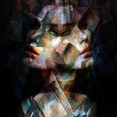 Cubism Piece/Kubismus-Stück