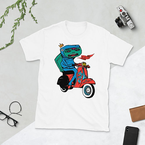 Vespa - Short-Sleeve Unisex T-Shirt