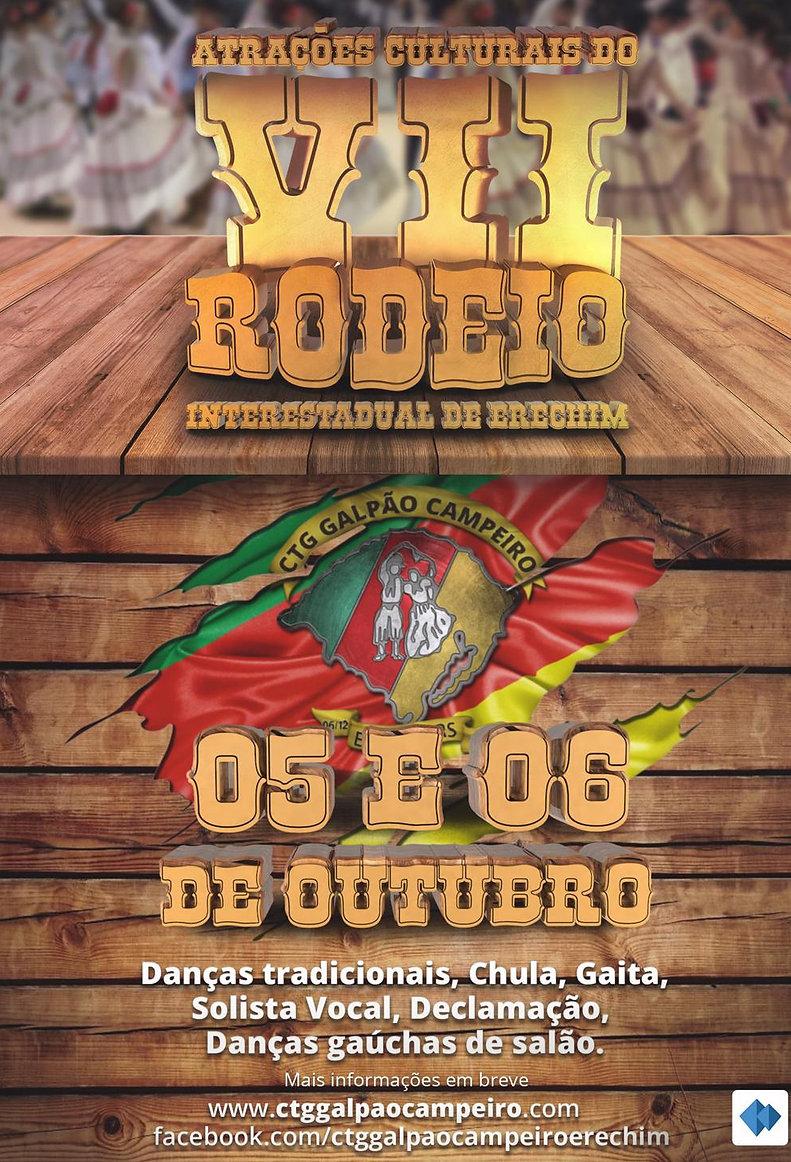 VII Rodeio Interestadual