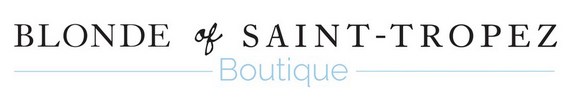 BLONDE OF SAINT-TROPEZ | BOUTIQUES & E-SHOP