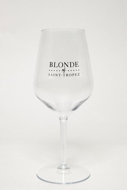 Verre transparent Blonde Of Saint-Tropez