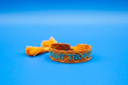 Bracelets tissus brodé