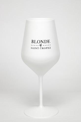 Verre blanc incassable Blonde of Saint-Tropez