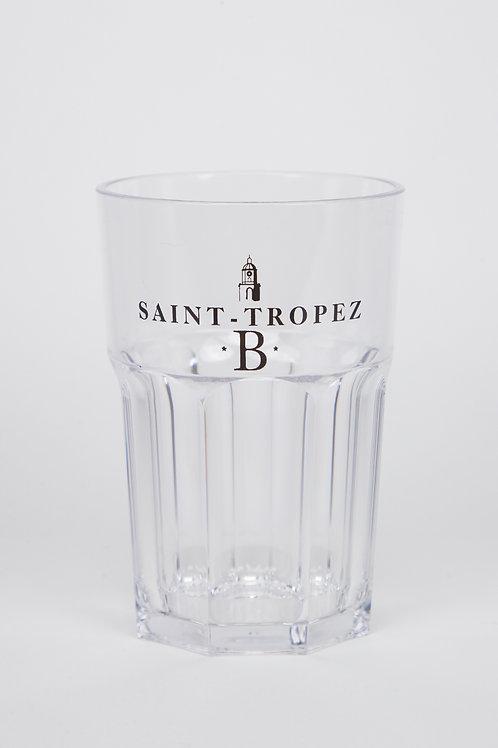 Pinte à bière ou mojito transparente   Blonde of Saint-Tropez