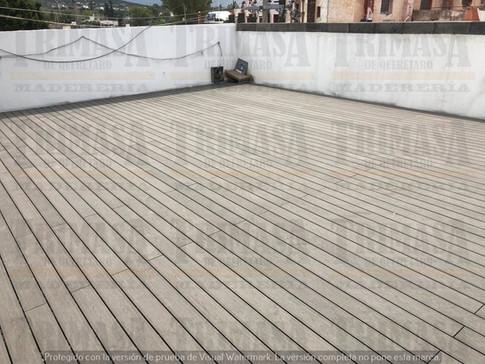 Deck PVC WPC Plastimadera Trimasa de Querétaro