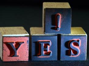 Say YES and watch how miracles happen