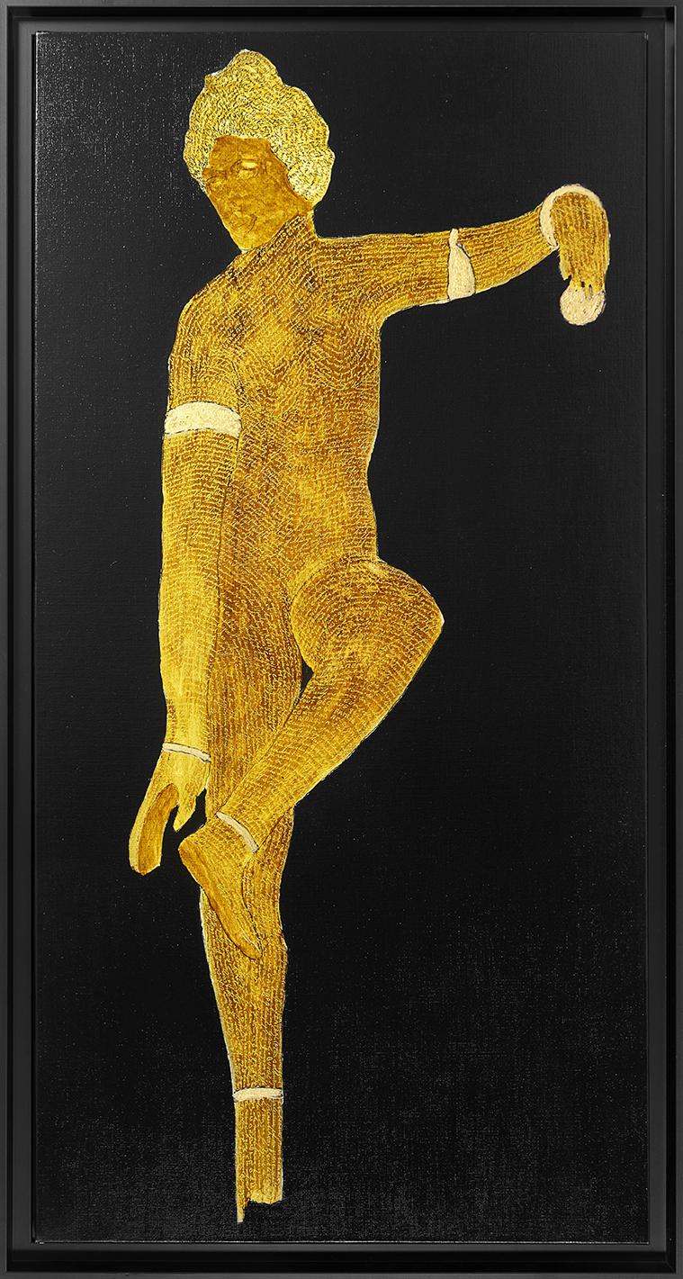Venus enlevant sa sandale