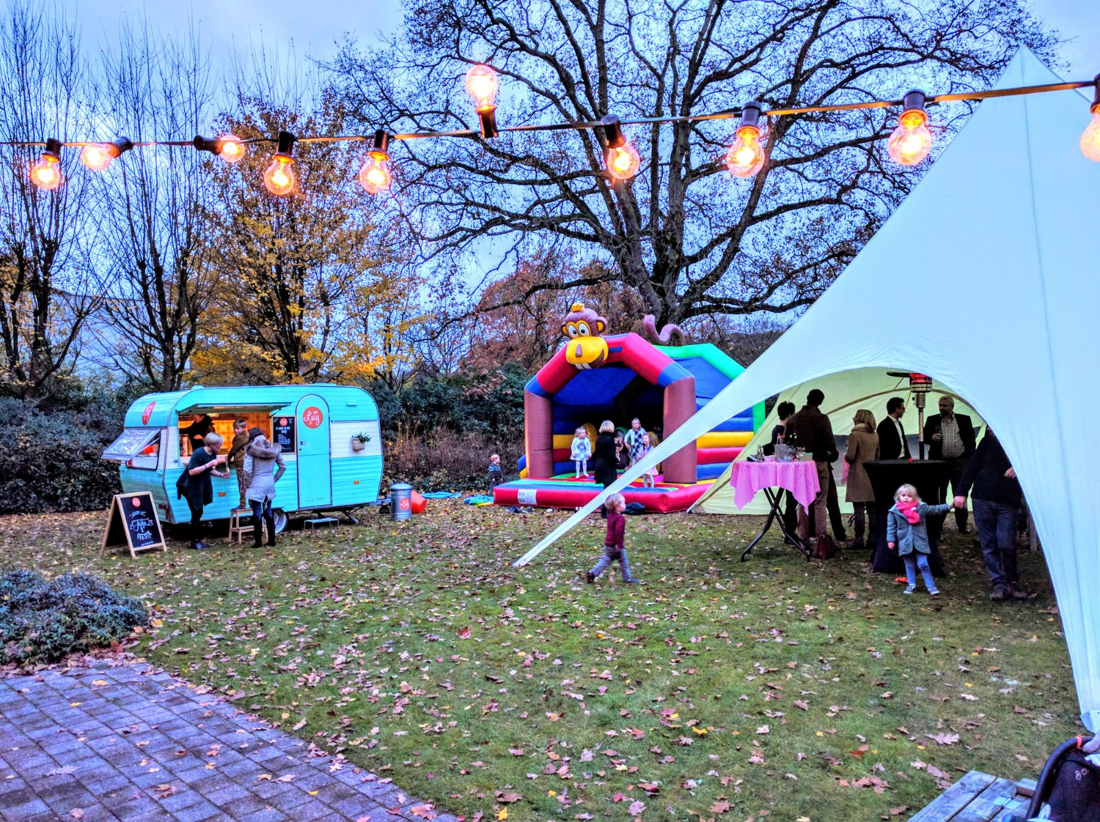 Babyborrel in de Herfst