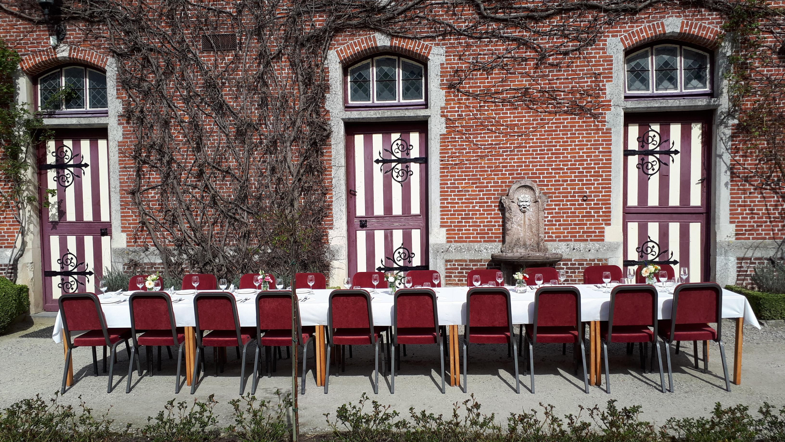 Wedding lunch _ Kasteel Van Beervelde