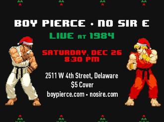 Boy Pierce and NO SIR E at 1984 12/26