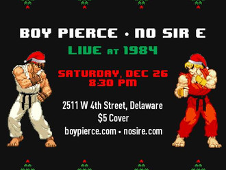 Boy Pierce and NO SIR E at 1984 12/26