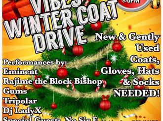 Hip Hop Vibes Winter Coat Drive