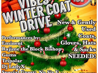 Hip Hop Vibes Winter Coat Drive