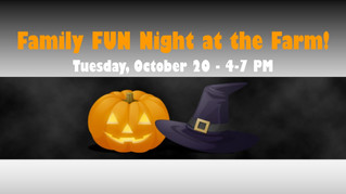 Family FUN Night at Blooms and Berries