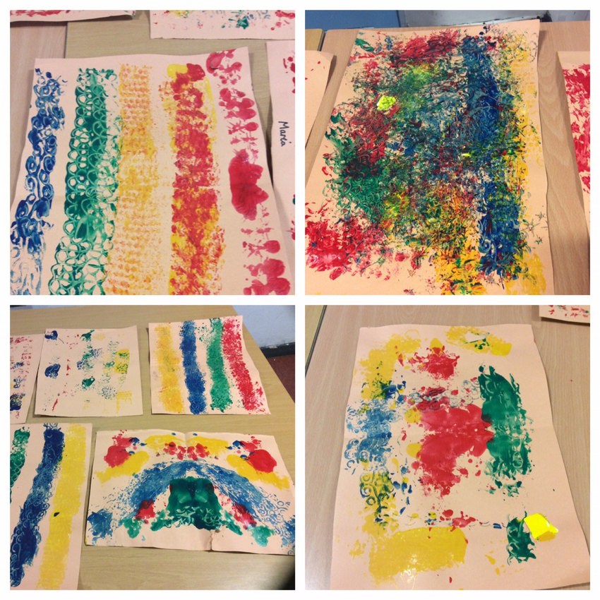 Painting textures in Breakfast Club