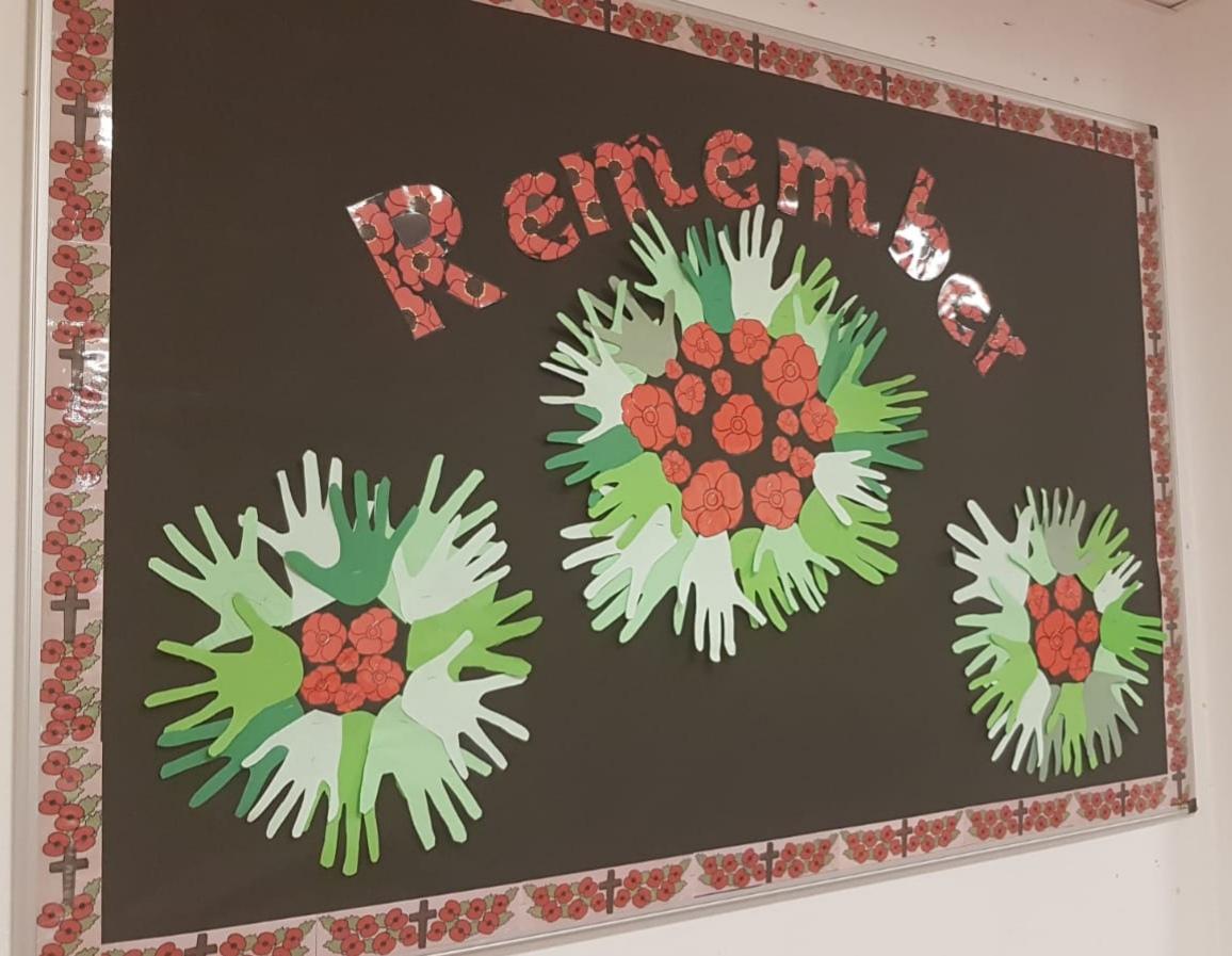 Remembrance display 2
